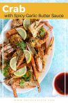 Crab with Spicy Garlic Butter Sauce recipe
