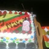 Chocolate and Fruit Cake