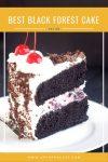 moist black forest cake recipe