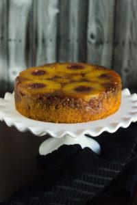 pineapple upside down cake, pineapple, monginis, best cake recipes, best pineapple upside down cake recipe,