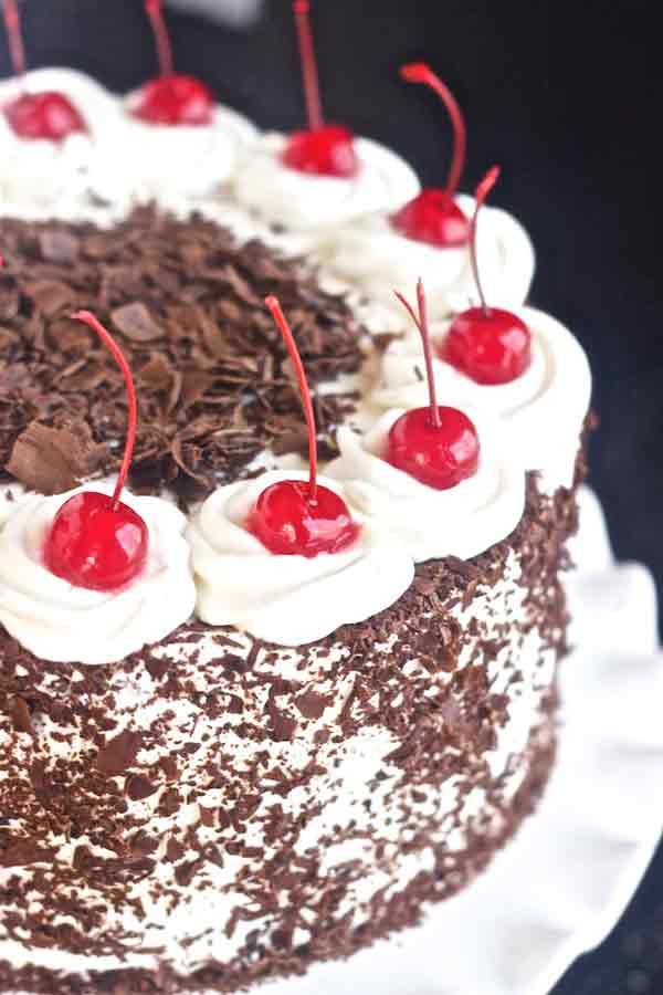 monginis black forest cake