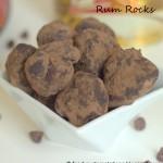 rum balls, rum rocks
