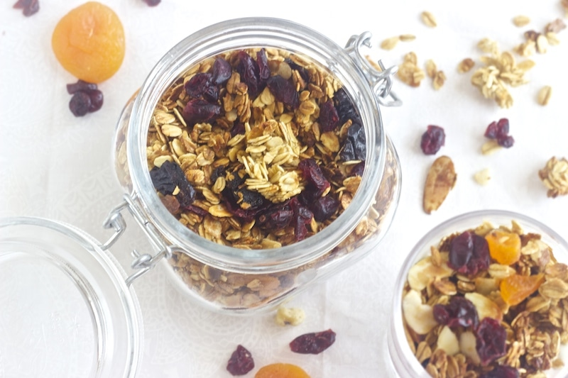 secret to a clustured granola