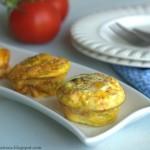 Omlets in cupcake pan