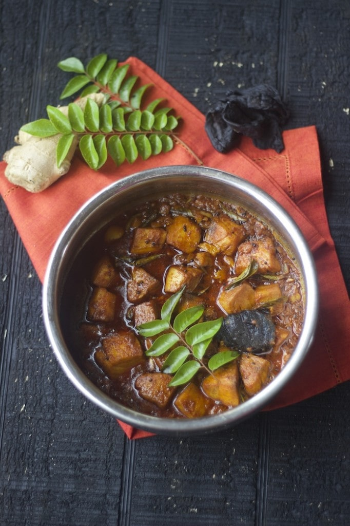kerela style fish curry, moluguchar