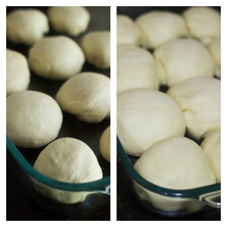 garlic bread rolls step4