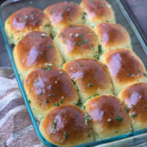 Soft pull-apart GARLIC BUTTER ROLLS