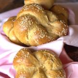 wholewheat sweet potato sandwich rolls / Rosetta shaped Dinner rolls