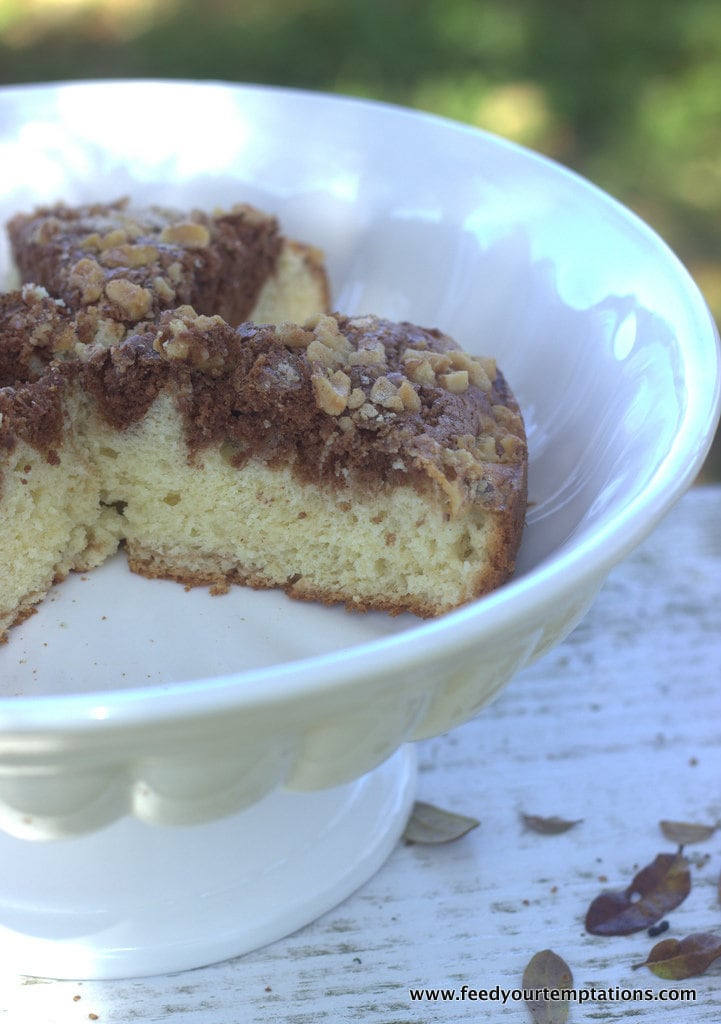 sourcream chocolate coffee cake