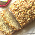 eggless banana bread, vegan, banana bread