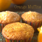 muffins with orange juice, orange muffins, fresh fruit muffins