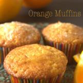 Fresh Orange Muffins | As Orangy an orange muffin can get