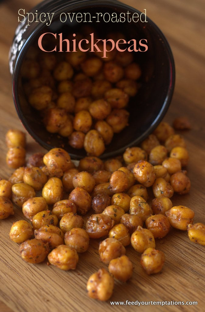 healthy chick peas, fried chickpeas, healthy snack, healthy chickpeas, oven roasted chickpeas