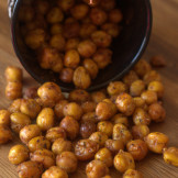 Oven roasted Chick peas | chole | Garbanzo beans