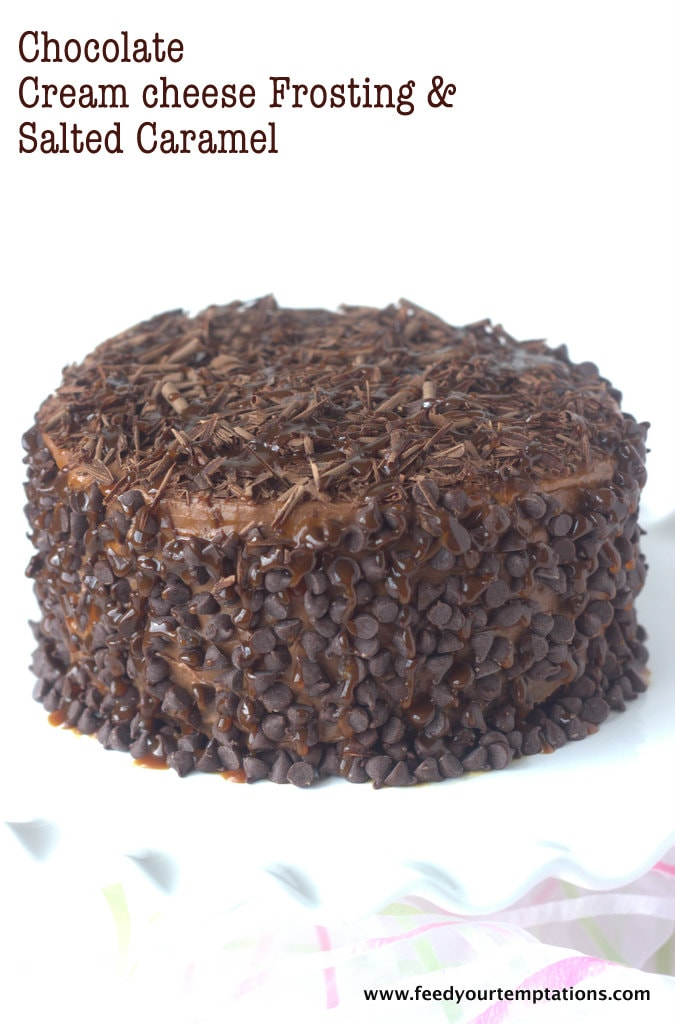 chocolate cake, eggless, eggless chocolate cake, vegan chocolate cake, vegan, best chocolate cake, chocolate cream cheese frosting