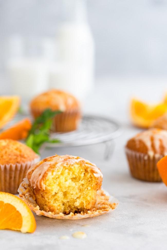best orange muffins recipe