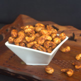 Sweet and Spicy Cashews – Oven roasted