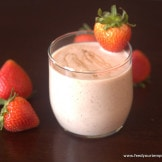 Oatmeal Fruit smoothie – Drinking breakfast cannot be easier