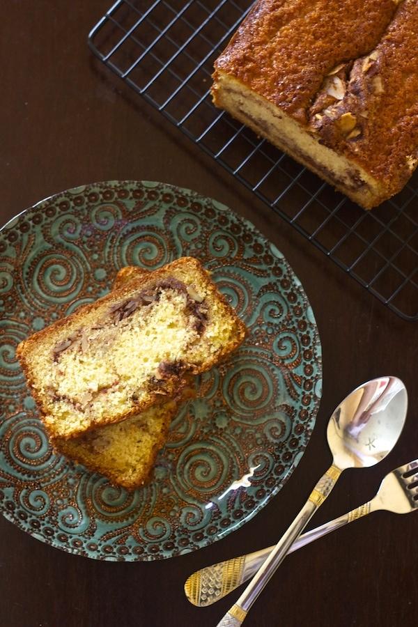 coffee cake. yogurt cake, chai masala cake, cinnamon streusel topping