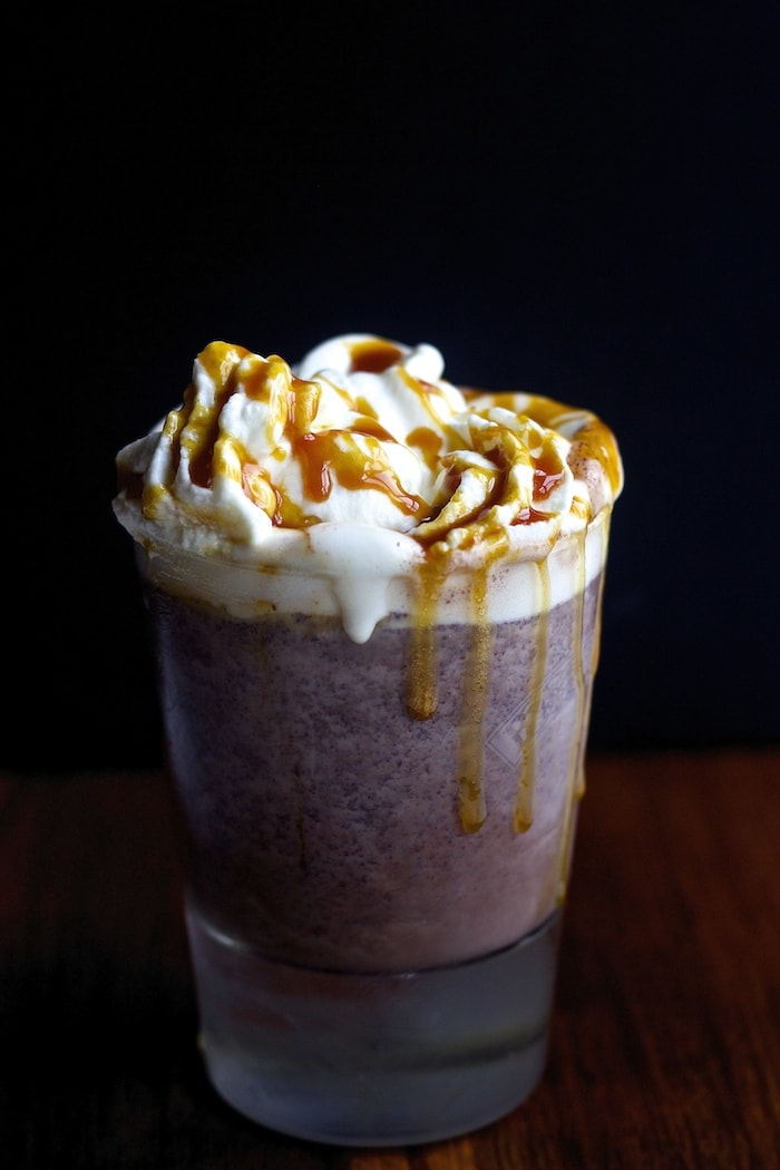 hot cocoa, decadent, best hot chocolate, creamy hot chocolate, hot chocolate with cocoa, with chocolate chunks