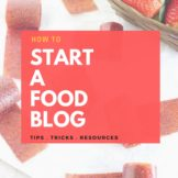 How to start a Food BLOG | or any Blog