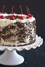 black forest cake, best chocolate cake, moist chocolate cake