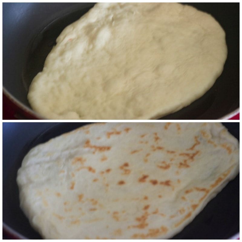 naan, naan recipe, recipe, indian bread, naan in oven, naan on tawa, tava, stovetop, garlic naan, naan on tava, girdle