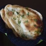 Garlic Naan – Indian bread (with or without Oven)