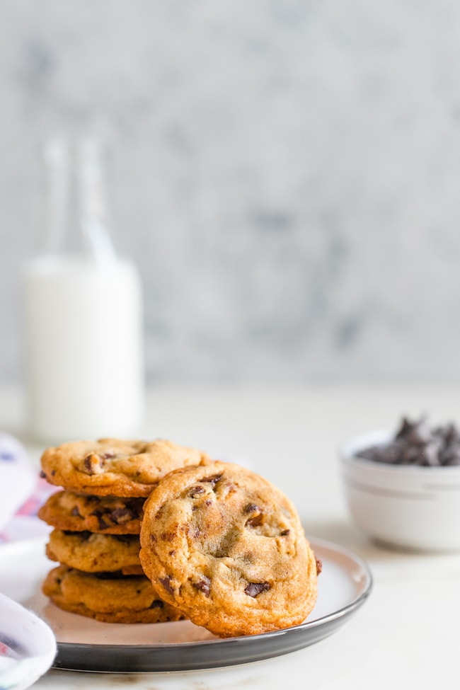 Best Chocolate Chip Cookies | Soft, Chewy and Crisp