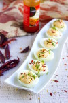 Deviled eggs recipe, deviled eggs, spiced deviled eggs, easy appetizers, quick appetizers, make diveled eggs