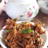 Onion Fritters – Onion Pakoras