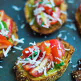 Bruschetta with Garlic Crisp