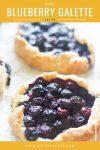 Easy Blueberry Galette