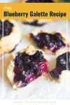 easy blueberry galette recipe