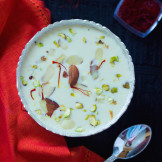 Rice Pudding / Rice Kheer in a Slow Cooker