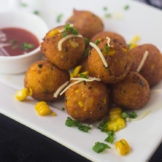 Potato and cheese pops
