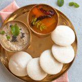 Soft Idlis with rice flour