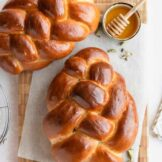 Honey and Cardamom Challah