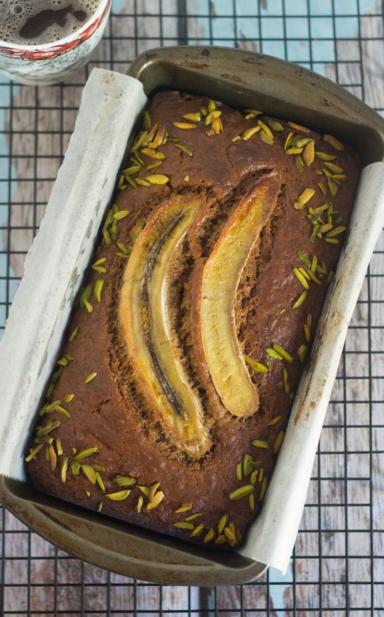 brown banana bread, best banana bread, easy banana bread, healthy cakes