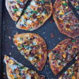 Flat bread Pizza | NAAN PIZZA with PANEER TIKKA