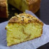 SAFFRON ALMOND COFFEE CAKE | With Almond Streusel