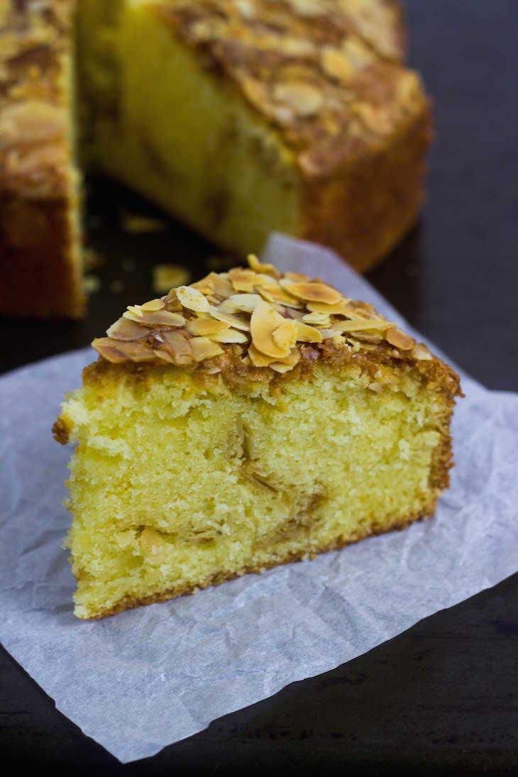 saffron cakes, saffron almond cake recipe, saffron infused cake, saffron butter cake, moist saffron cake