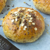 Whole grain HOT CROSS BUNS | Wheat, Oats, flax seeds and honey