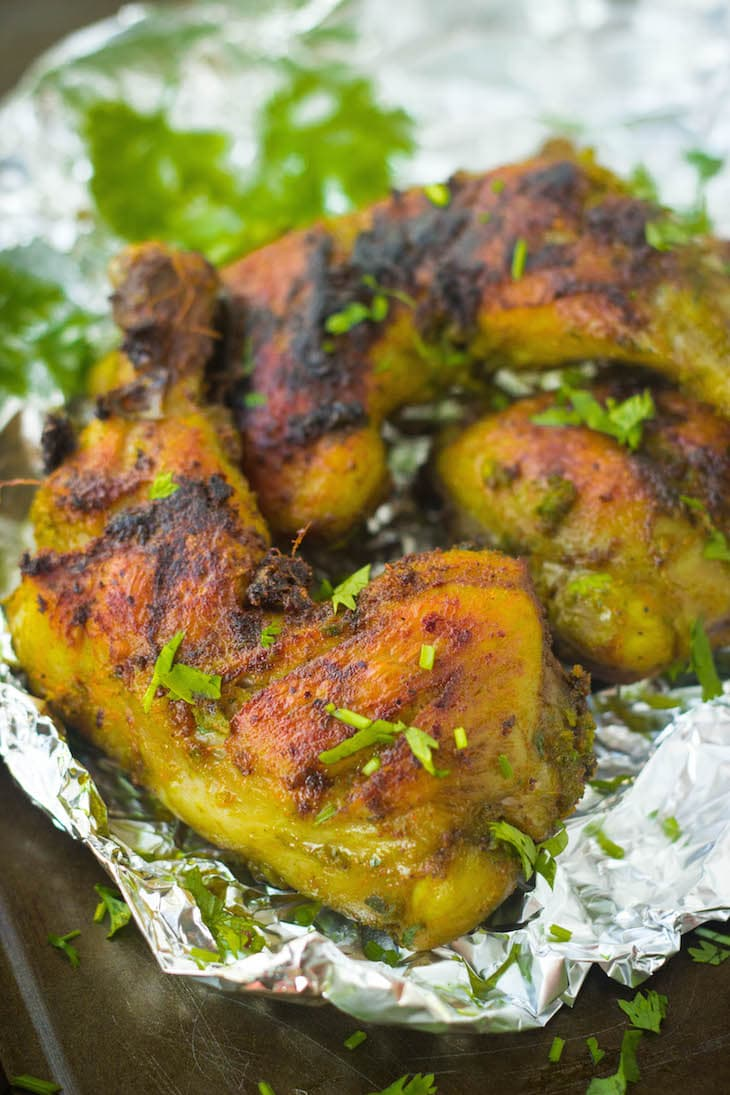 chicken roast with herbs, chicken dry roast, chicken recipes, chicken kebabs, bbq recipes, indian chicken recipes, chicken under 30 minutes
