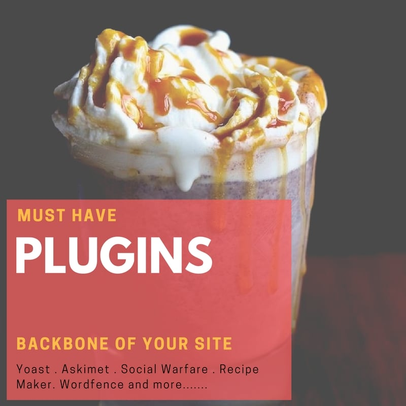 must have Plugins for food bloggers