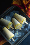 mango kulfi, kulfi with condensed milk, creamy mango popsicle, no cook mango kulfi, easy kulfi recipe