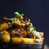 Spicy Potato fry | Shallow fried potatoes with Spices