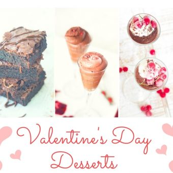 Romantic Desserts for two | Valentine's Day Dessert Ideas