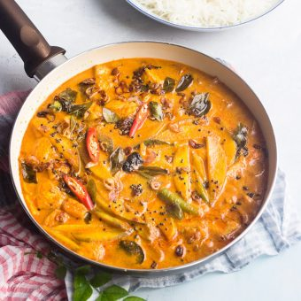 Salmon Curry with Coconut Milk