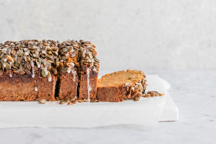 Moist Pumpkin Bread with best Streusel Topping